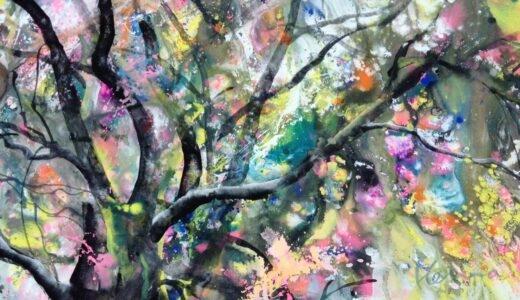 アート作品 能登の桜
